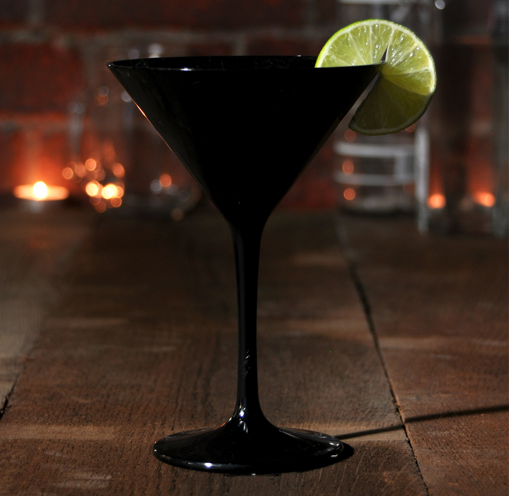 Cocktail Midnight Martini